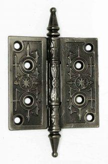 antique cast iron gothic hinge - Vintage Door Knobs