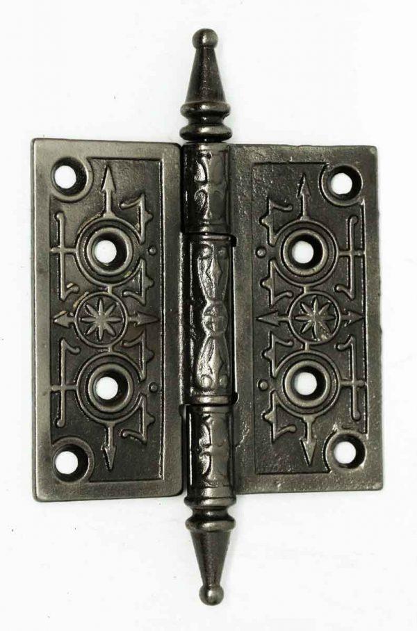 Antique Cast Iron Gothic Hinge - Door Hinges
