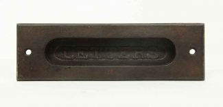 Cast Iron Letter Door Mail Slot & Antique Mail Hardware | Olde Good Things