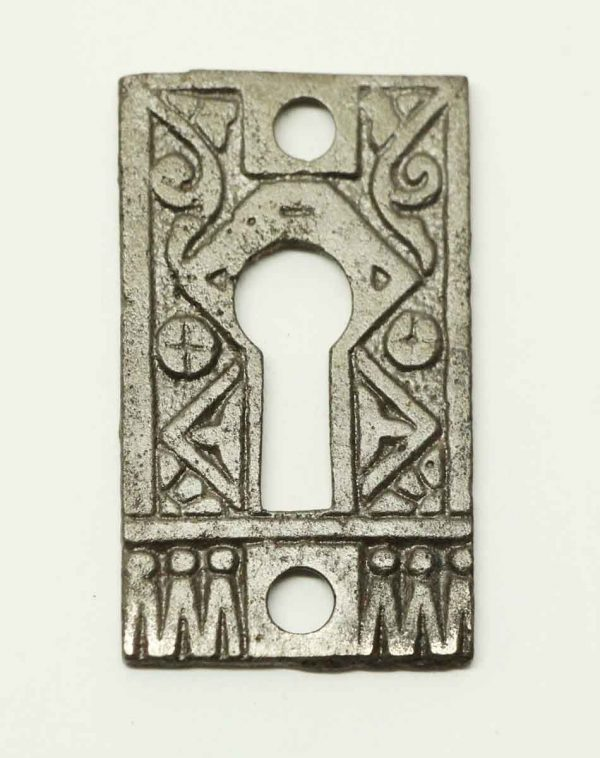 Cast Iron Aesthetic Escutcheon Cover - Keyhole Covers
