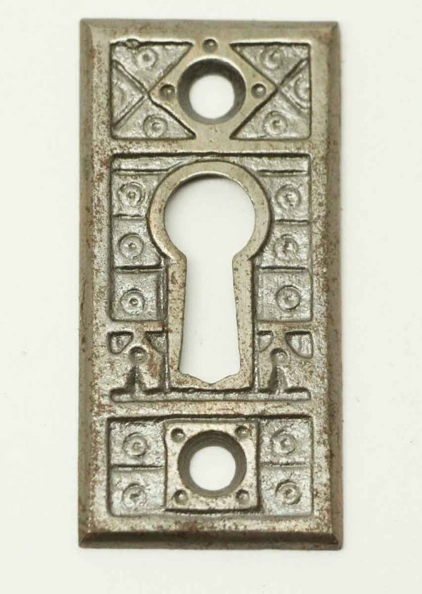 Cast Iron Aesthetic Door Escutcheon Cover - Keyhole Covers