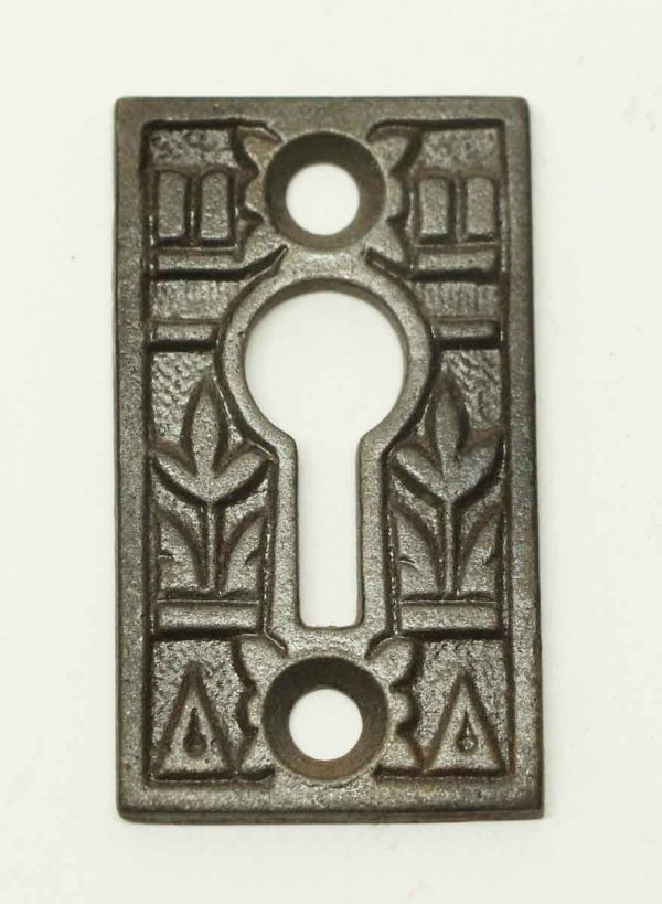 Antique Eastlake Style Door Keyhole Cover - Keyhole Covers
