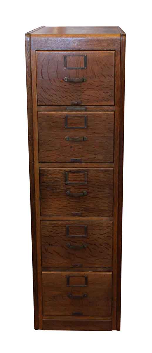 Library Bureau Sole Makers Oak File Cabinet - Library Bureau Sole Makers Oak File Cabinet Olde Good Things