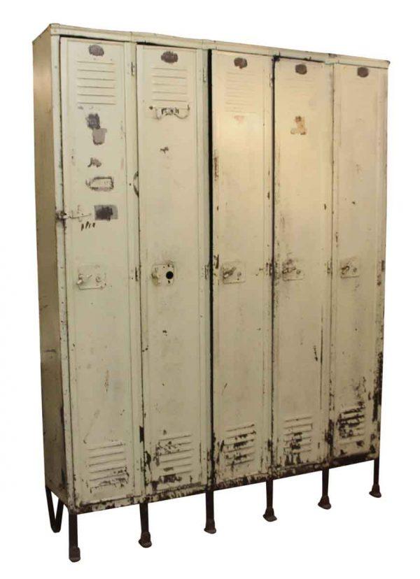 Industrial White Locker Unit - Industrial