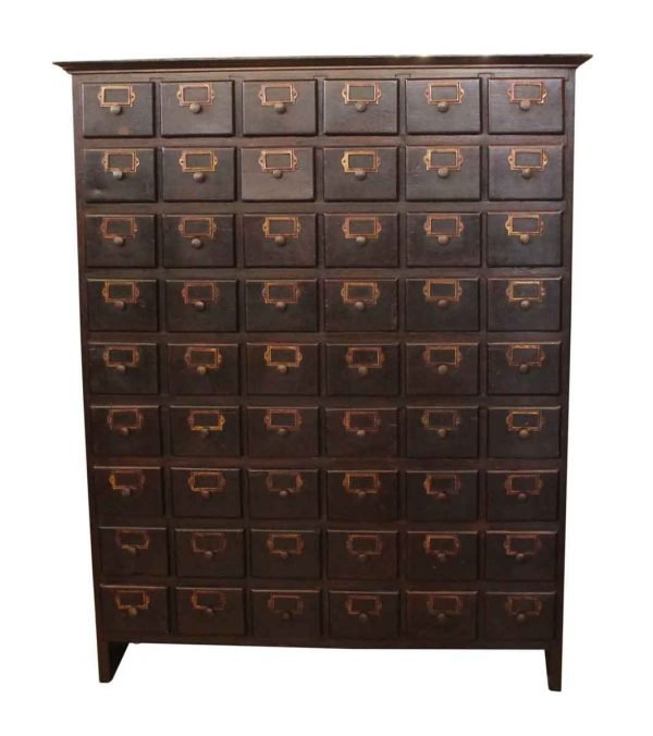 Multi Drawer Card Catalog Chest of Drawers - Office Furniture