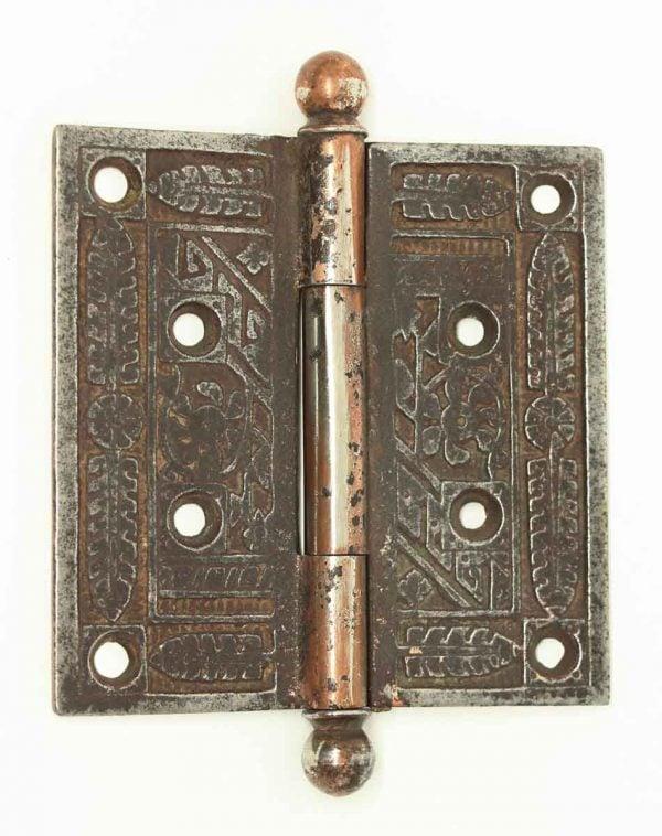 Victorian Cast Iron Steel Finish Door Hinge - Door Hinges