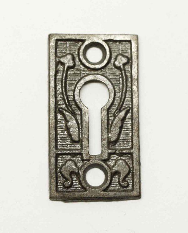 Antique Victorian Keyhole Escutcheon Plate - Keyhole Covers