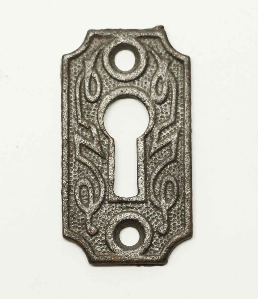 Antique Escutcheon Keyhole Brass Vintage Door Hardware Victorian £10 Each