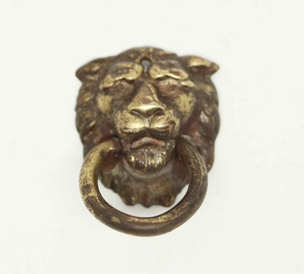 Antique Lion Ring Drawer Pull - Cabinet & Furniture Pulls