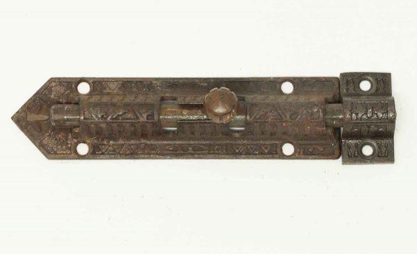 Antique Victorian Bolt Latch - Door Locks