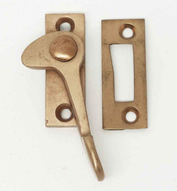 Satin Finish Brass Window Lock - Window Hardware