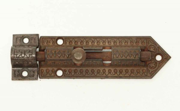 Victorian Cast Iron Door Bolt - Door Locks