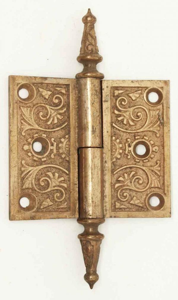 Antique Brass Steeple Door Hinge - Door Hinges