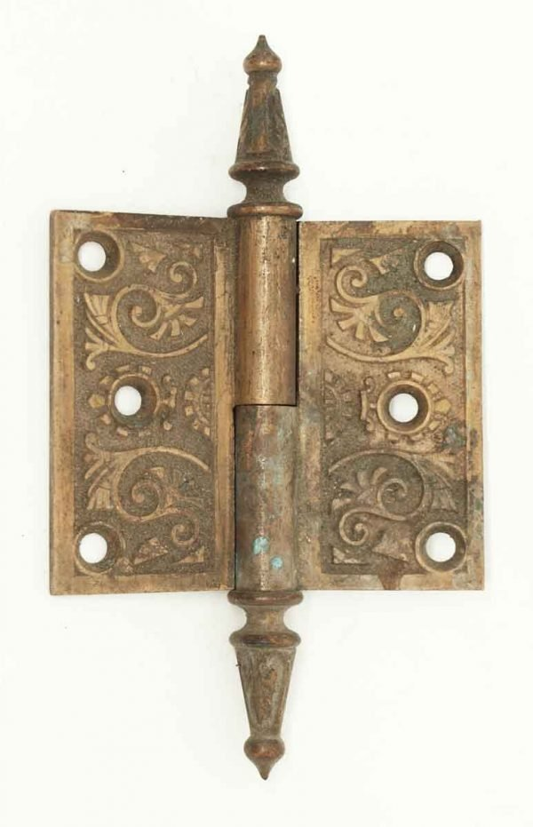 Victorian Hinge with Steeple Pin Top - Door Hinges