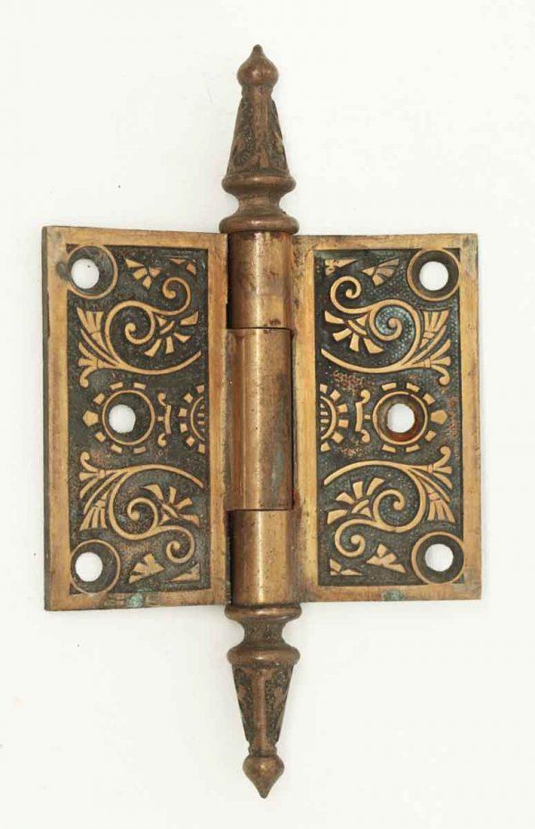 Victorian Copper Wash Patina Hinge - Door Hinges