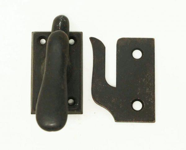 Antique Matte Black Finish Window Lock - Window Hardware