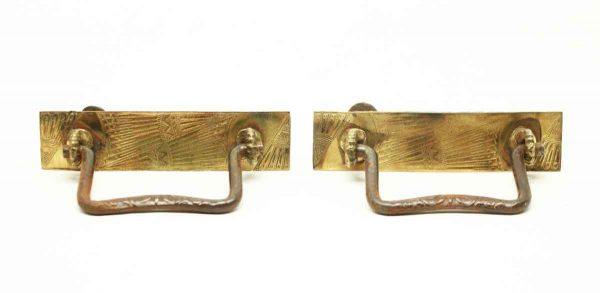 Victorian Brass Drawer Pulls - Cabinet & Furniture Pulls