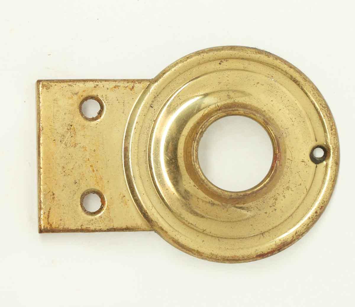 Bronze door bell or peephole cover olde good things - Door knocker with peep hole ...