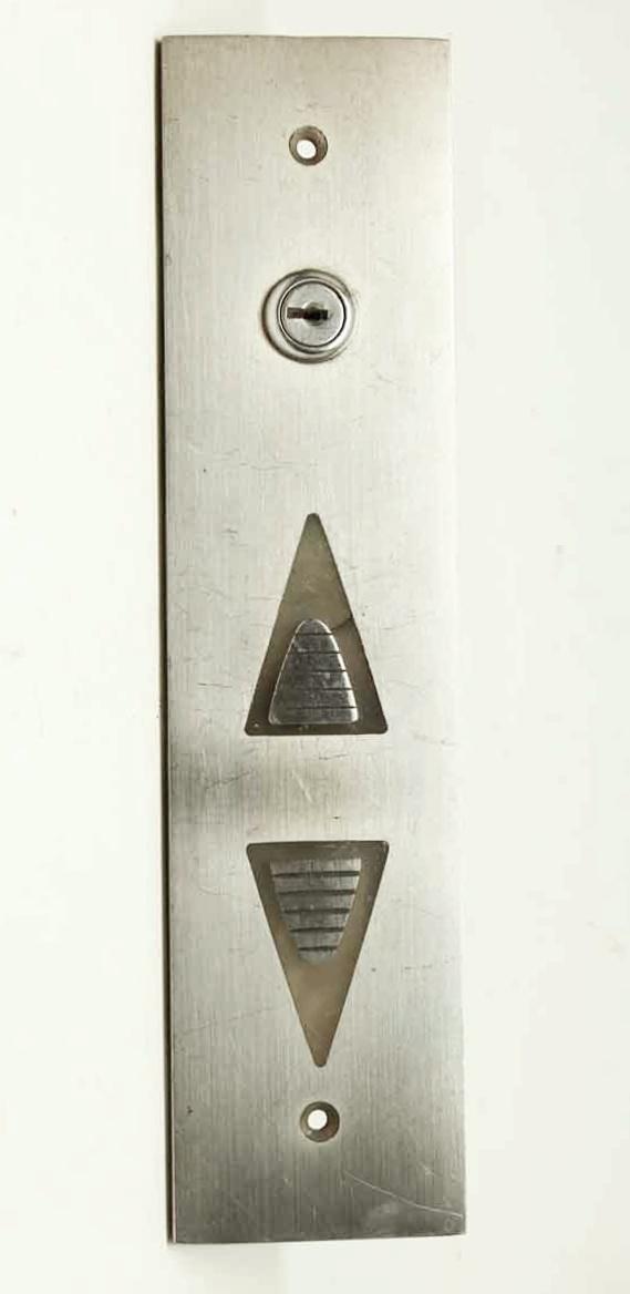 Steel Over Brass Elevator Arrow Plate - Elevator Hardware