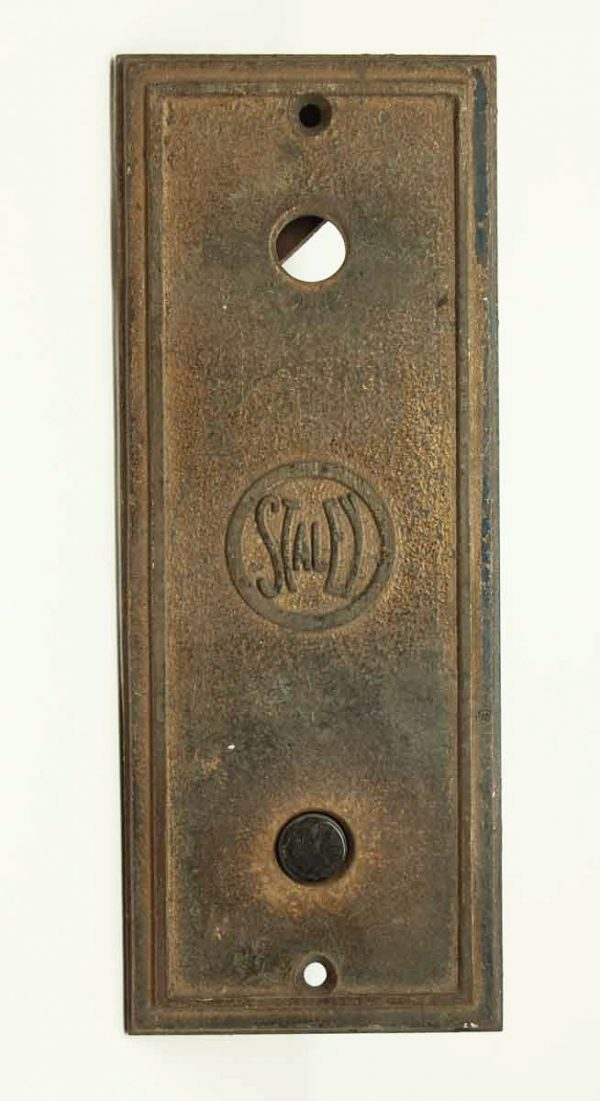 Bronze Staley Elevator Button Plate - Elevator Hardware