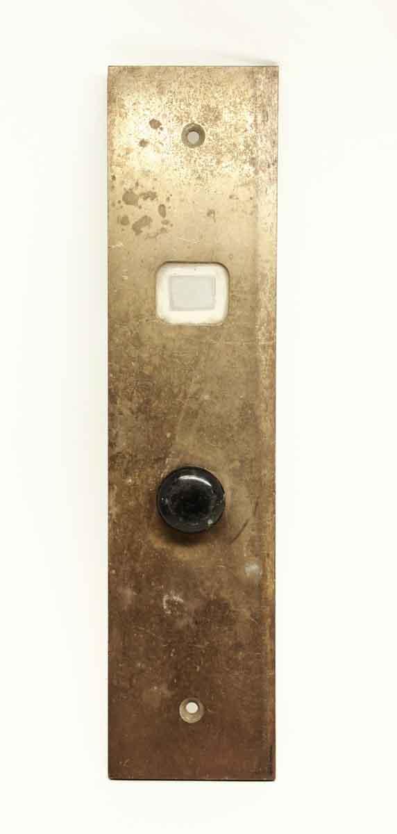 Brass Vintage Elevator Indicator Plate - Elevator Hardware