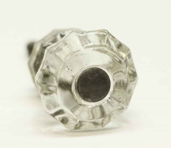 Vintage Small Glass Clear Knob - Cabinet & Furniture Knobs