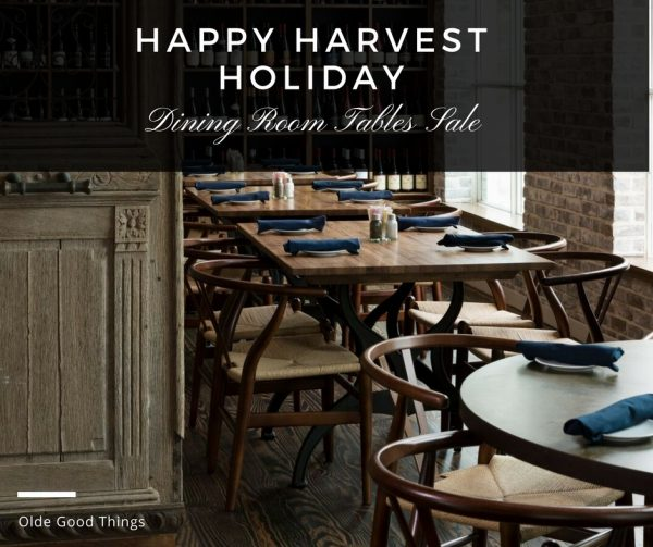 Harvest Dining Room Table: Architectural Salvage Blog