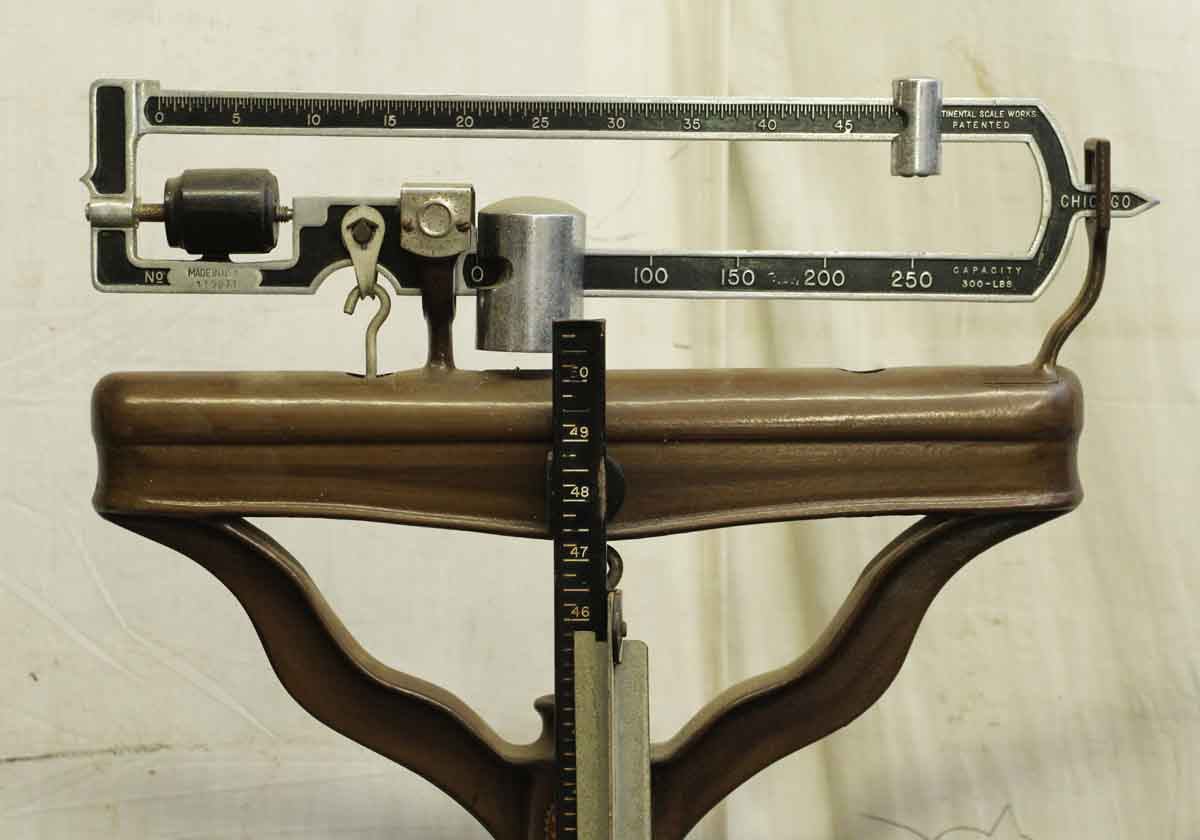 684400a5380ae Antique Continental Doctor's Beam Scale | Olde Good Things
