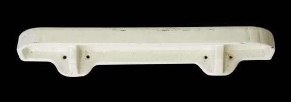 Bathroom - Vintage Imported White Ceramic Crackled Shelf