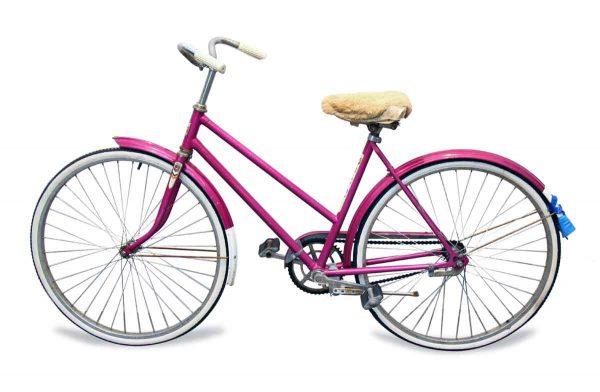 Bicycles - Hot Pink Vintage Bike