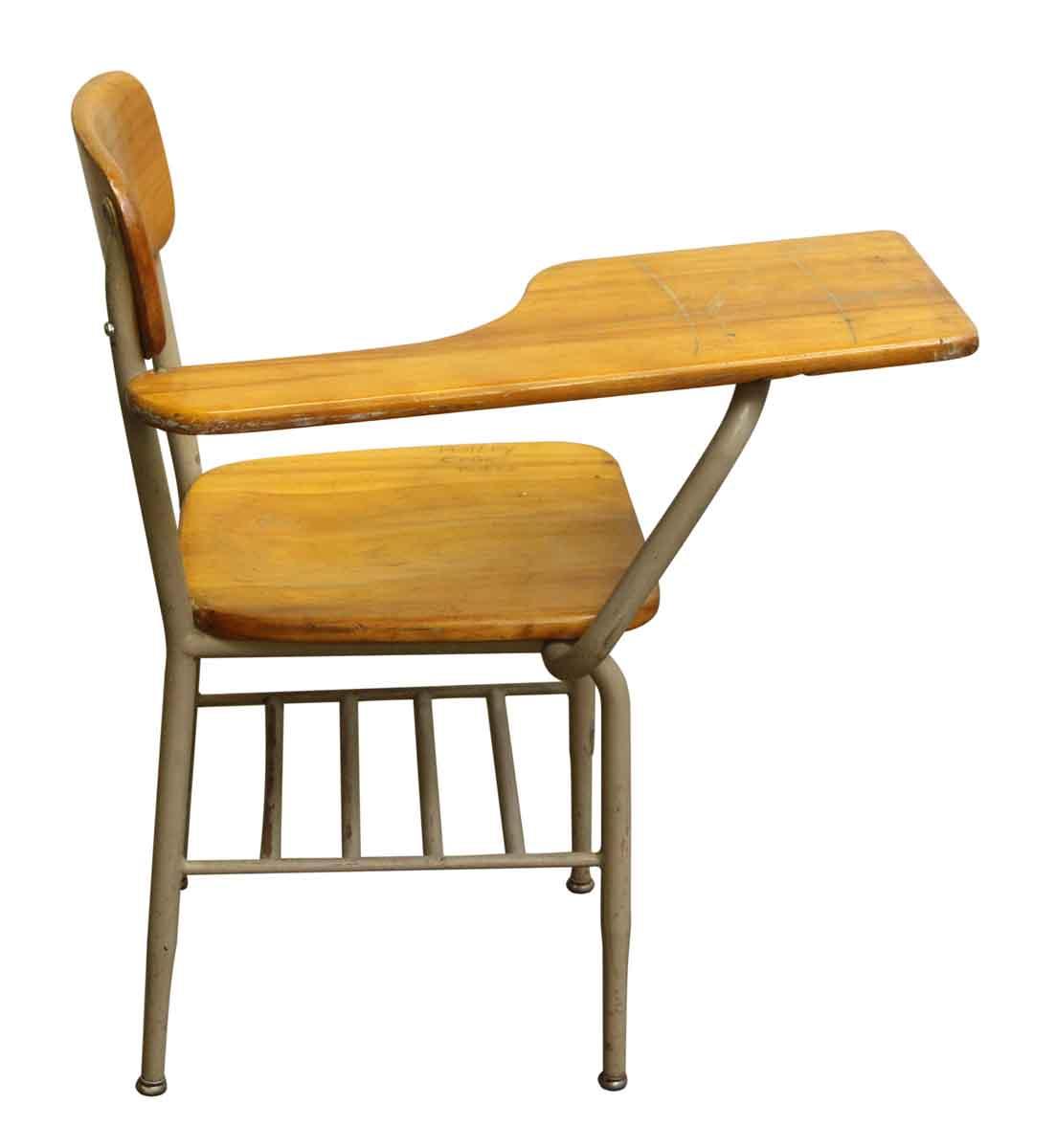 Heywood Wakefield School Desk And Chair Hostgarcia
