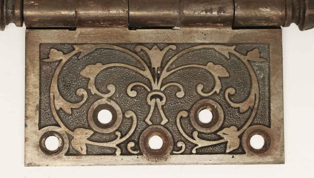 Door Hinges - N252264 & Antique Cast Iron Decorative Door Hinge | Olde Good Things