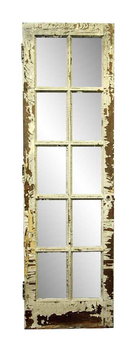 Doors - Antique Pine French Door with Ten Lites