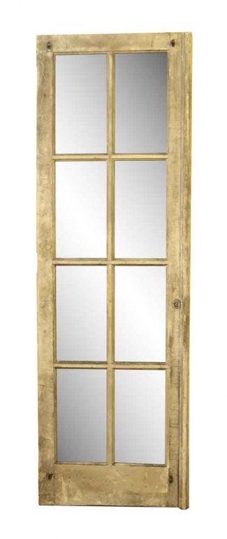 Old Interior French Eight Pane Door