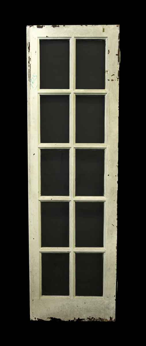 French Doors - Antique French Wooden Door with 10 Lites
