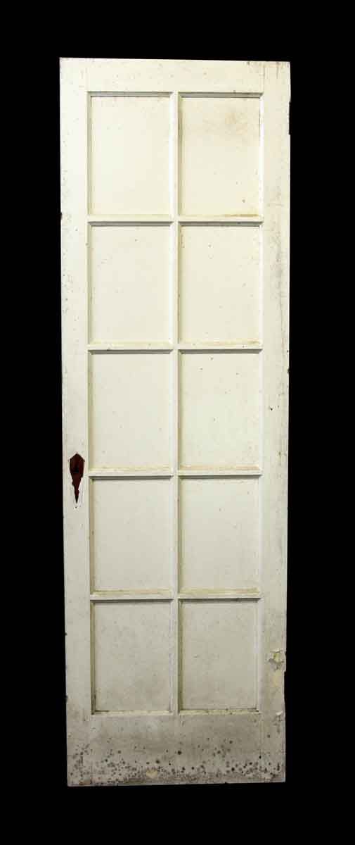 French Doors - Antique Old French Door with 10 Lites