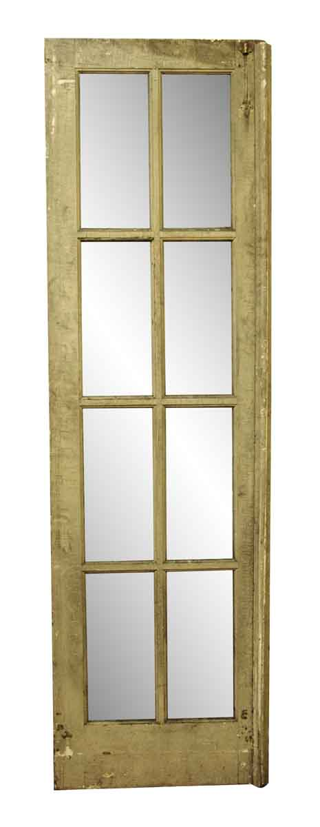 French Doors - Antique Pine Used French Door with Eight Lites