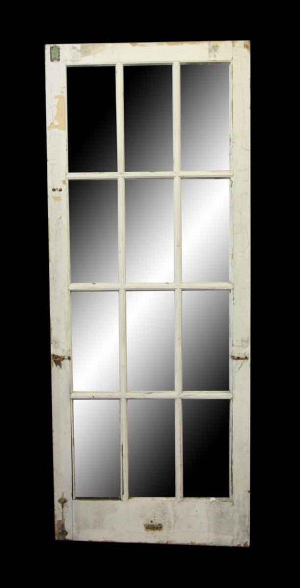 French Doors - Antique Twelve Light Interior French Door