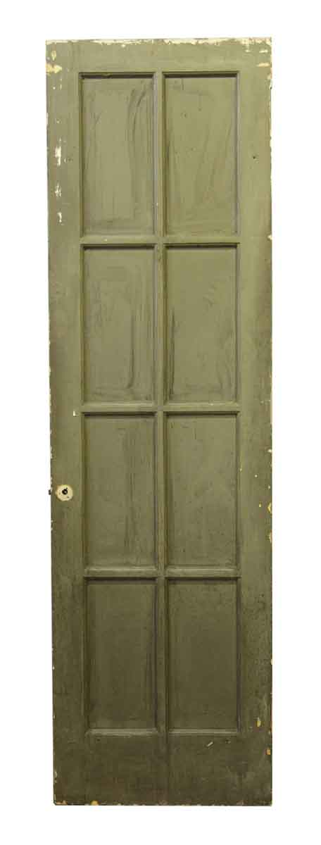 Antique used eight lite french door olde good things for French doors for sale
