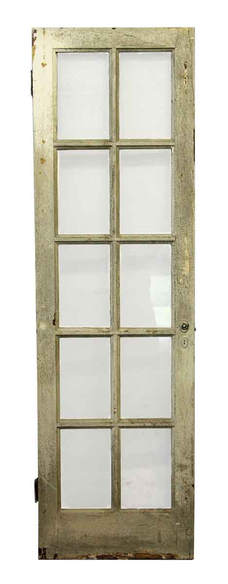 Antique used ten lite french door olde good things for Used french doors