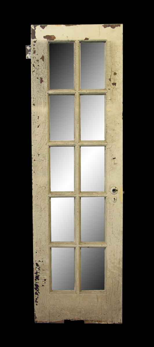 French Doors - Old Interior French Door with 10 Lites