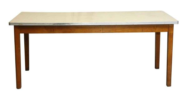 Kitchen & Dining - Vintage Six Foot Dining Room Table