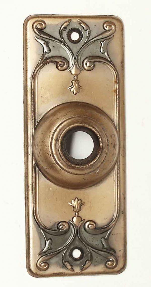 Knockers & Door Bells - Decorative Pressed Metal Door Bell Plate