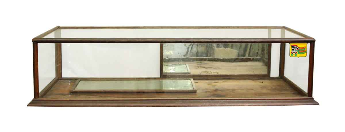 Antique Counter Table Top Display Case