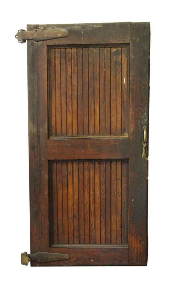 Old Wooden Freezer Door - Specialty Doors