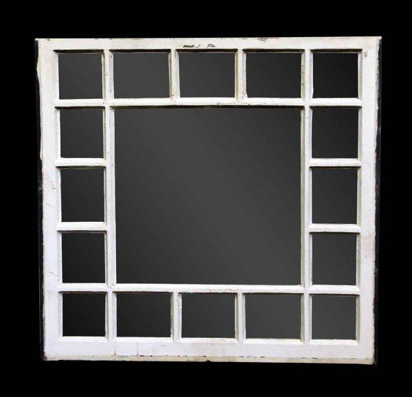 Reclaimed 17 Pane White Window - Reclaimed Windows