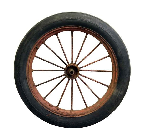 Original Good Year Tractor Wheel - Car Fronts & Parts
