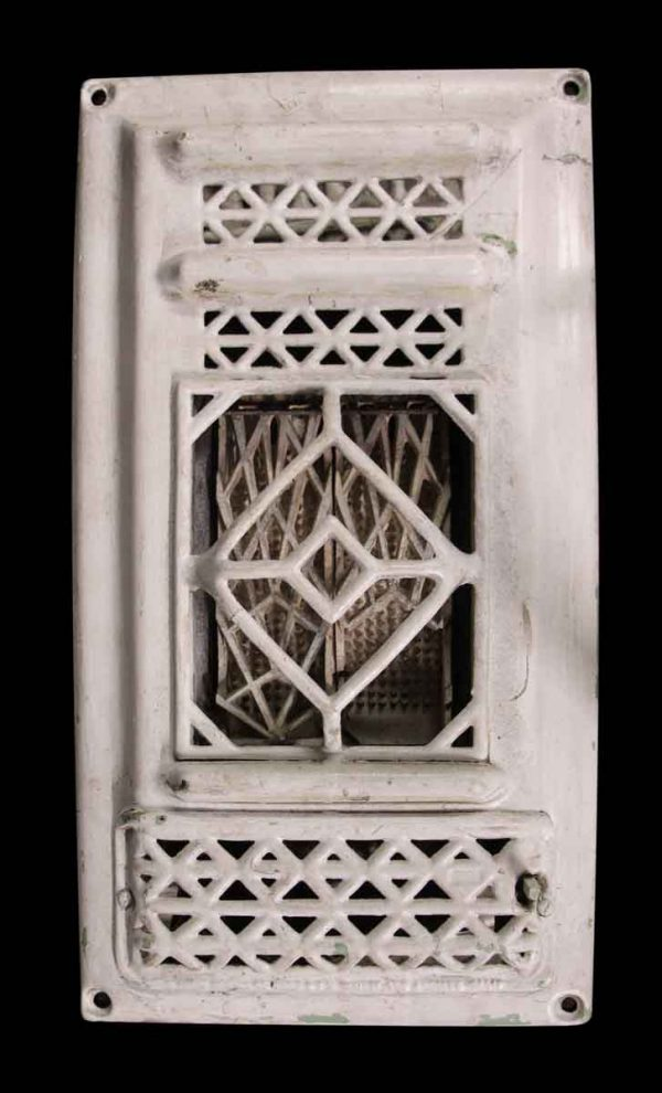 Antique White Cast Iron Heating Wall Cover - Heating Elements