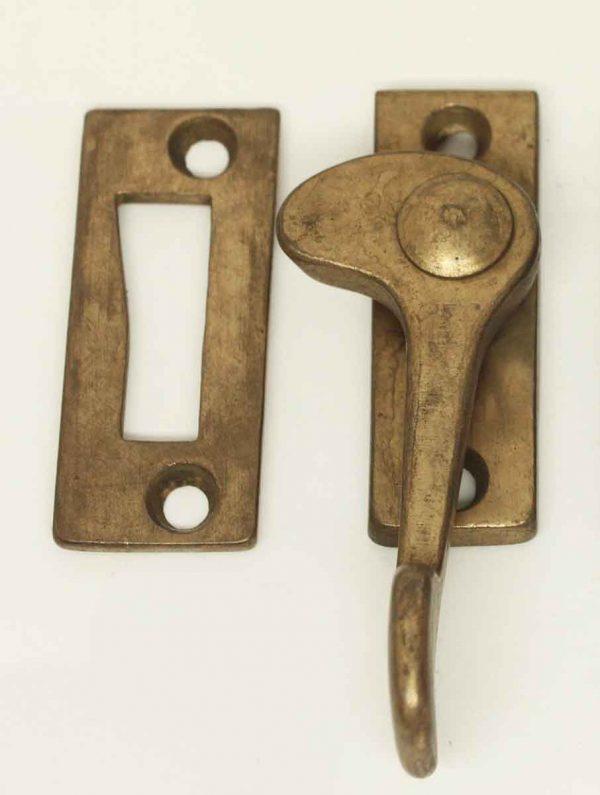 Steel Brass Patina Window Lock - Window Hardware