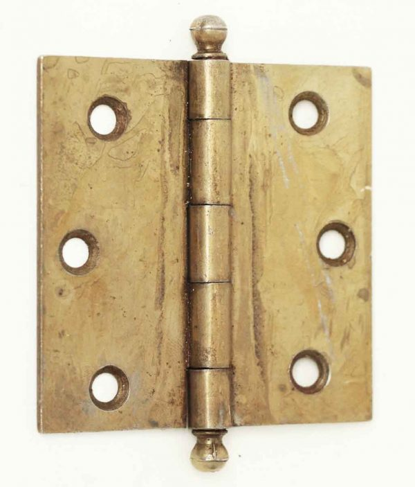 Vintage Brass Plated Steel Cabinet Hinge - Cabinet & Furniture Hinges